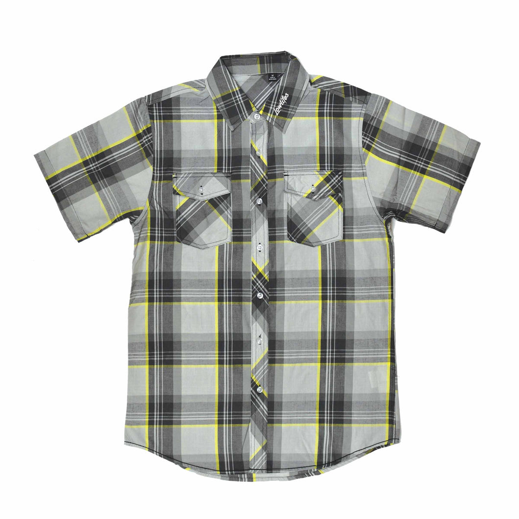 Shirt - Ess Plaid - Yellow
