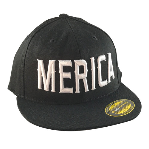 Hat - Flex-Fit®- MMF Blk/Wht