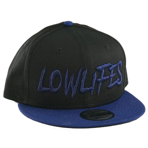 Hat - New Era - Lowlifes2 Blue/Blk