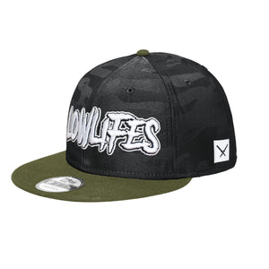 Hat - Snapback: Lowlifes - Low2 BC/GN/W