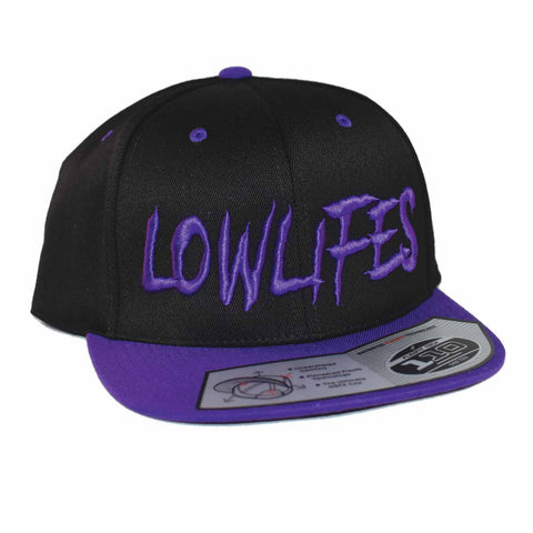 Hat - Snapback - Low2 Blk/Purple