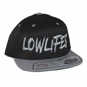 Hat - Snapback - Low2 Blk/Gry