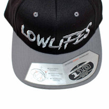 Load image into Gallery viewer, Hat - Snapback - Low2 Blk/Gry
