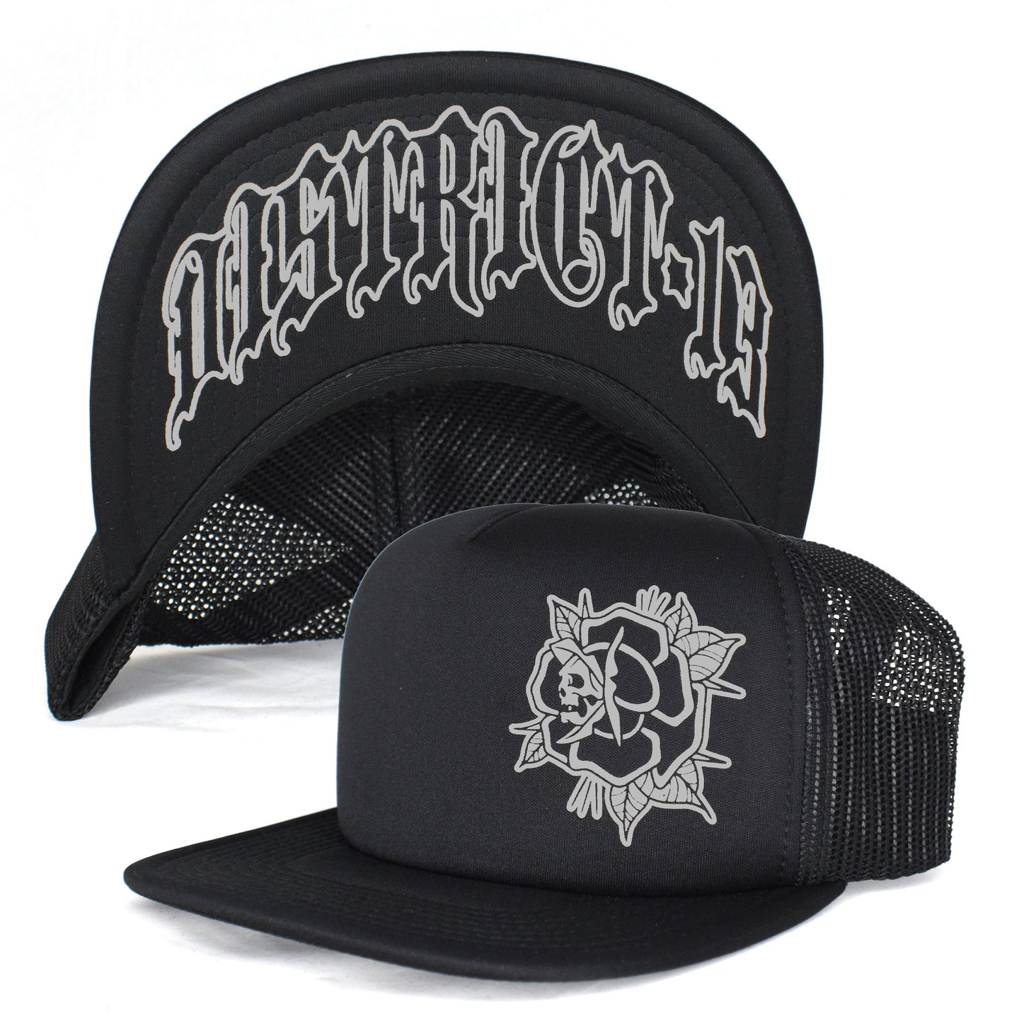 Hat - Trucker: D13 - Death Rose