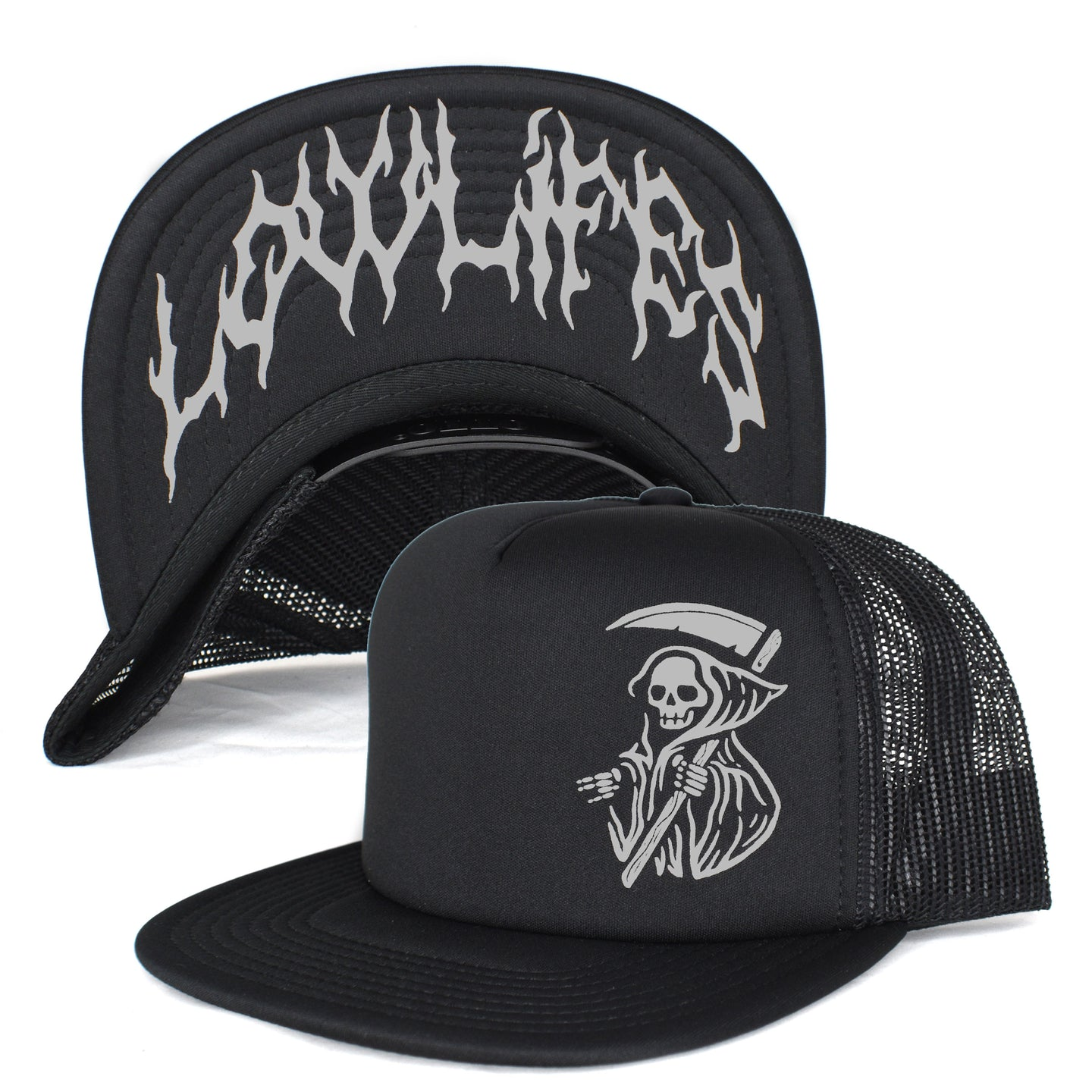 Hat - Trucker: Lowlifes - Shocking Death