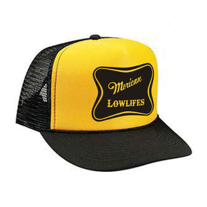 Hat - Trucker - ML Blk/Yellow