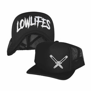 Hat - Trucker - Essential - Blk/Wht