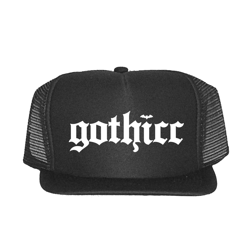 Hat - Trucker - Gothicc