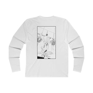 Shirt - Long Sleeve | Trash Baby - Peace Wht.