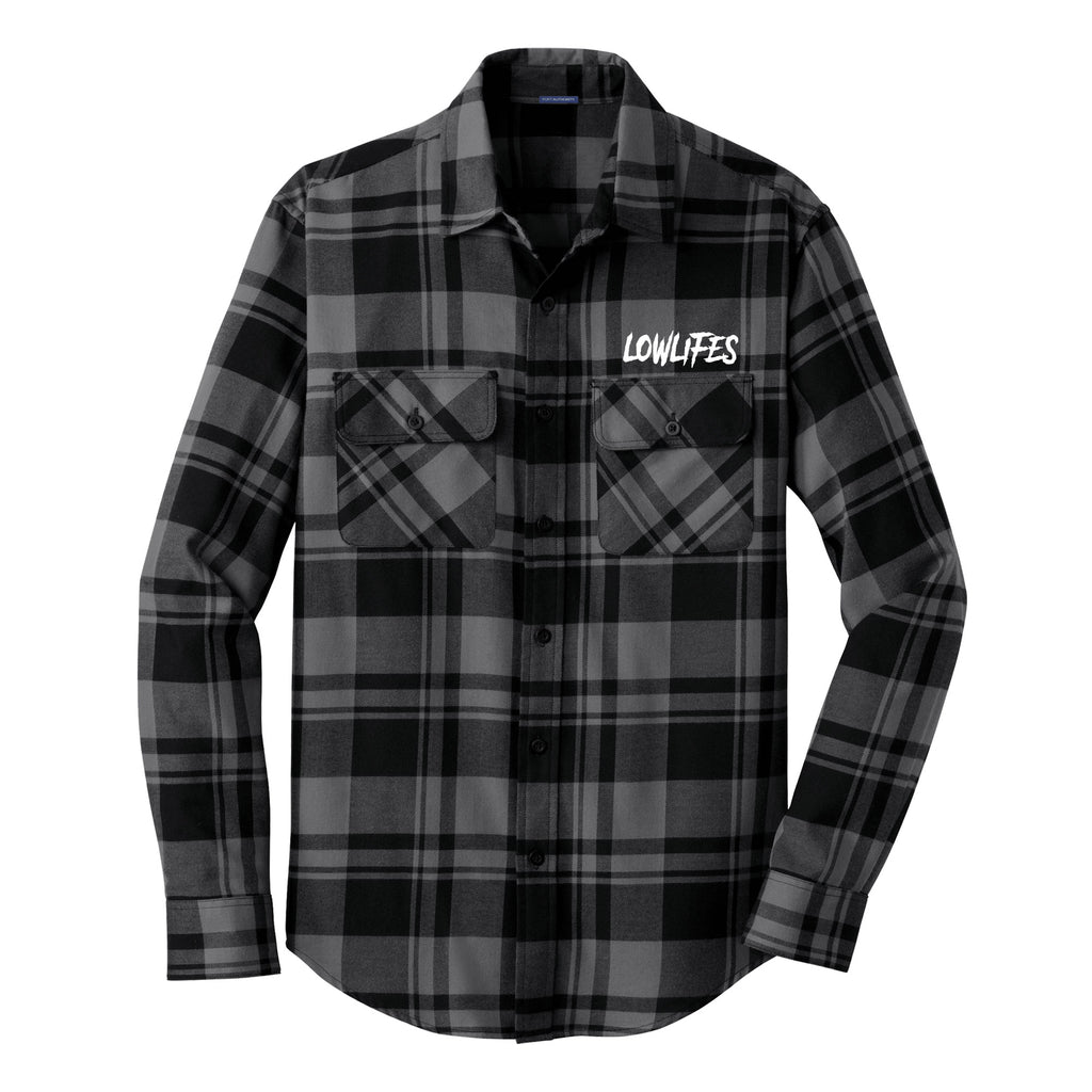 Shirt - Low2 Gry Flannel