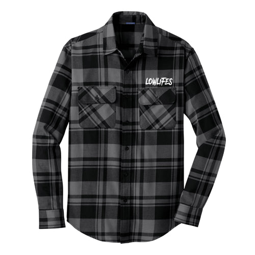 Shirt - Flannel | Lowlifes - Low2 Gry