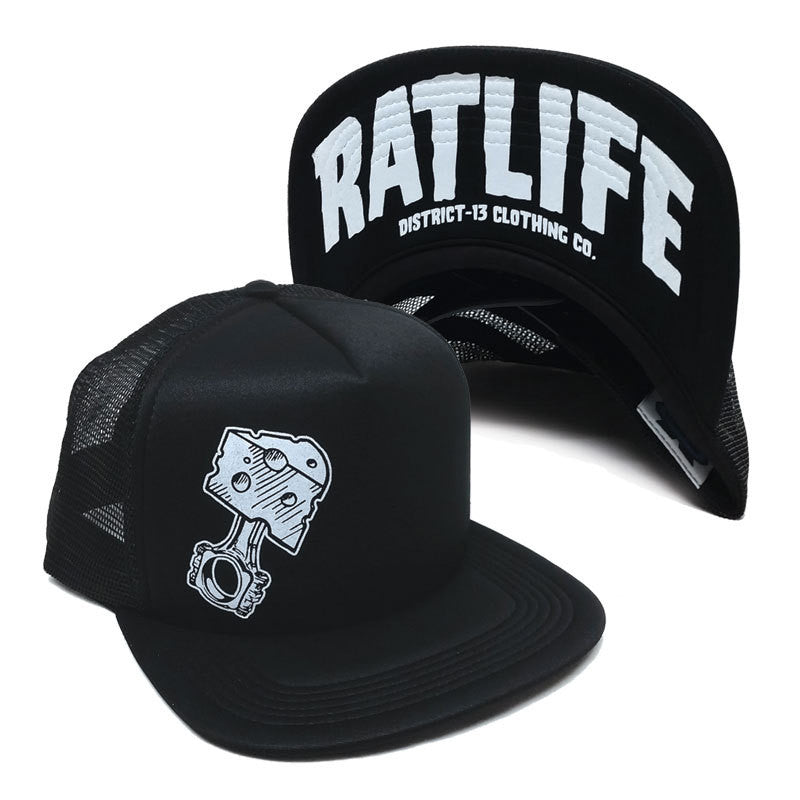 Hat - Trucker - Rat Life