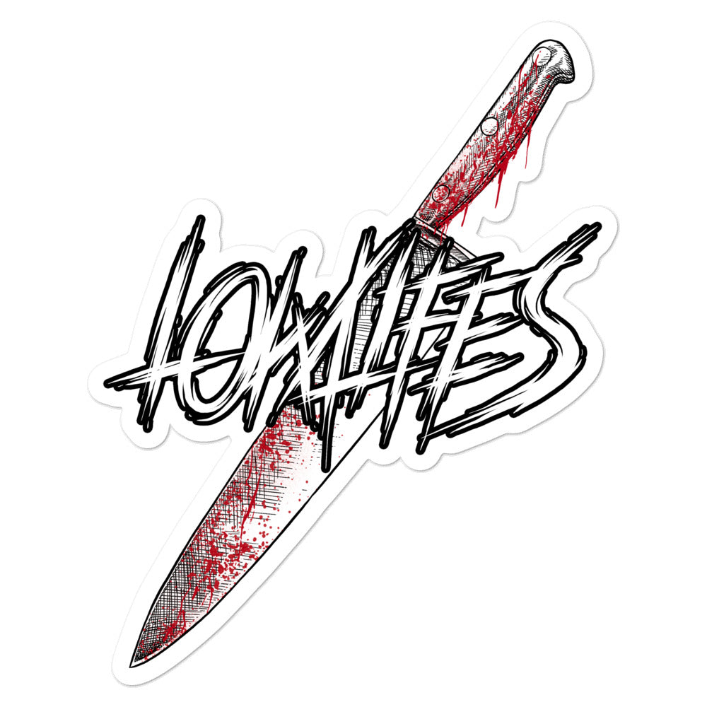 Sticker - Die Cut | Lowlifes - Knife
