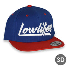 Load image into Gallery viewer, Hat - Snapback | Lowlifes - Low2 BLU/R/W