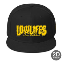 Load image into Gallery viewer, Hat - Snapback | Lowlifes - Cheese2