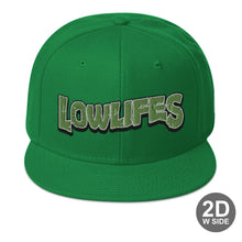 Load image into Gallery viewer, Hat - Snapback | Lowlifes - Cowabunga