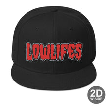 Load image into Gallery viewer, Hat - Snapback | Lowlifes - Ghoul2 B/B/R