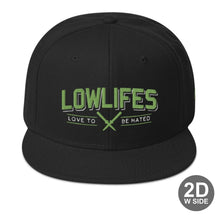 Load image into Gallery viewer, Hat - Snapback | Lowlifes - Hated3