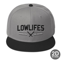 Load image into Gallery viewer, Hat - Snapback | Lowlifes - Hated G/B/B