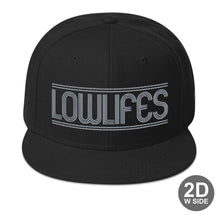 Load image into Gallery viewer, Hat - Snapback | Lowlifes - Lines