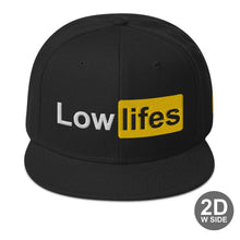 Load image into Gallery viewer, Hat - Snapback | Lowlifes - Lowhub