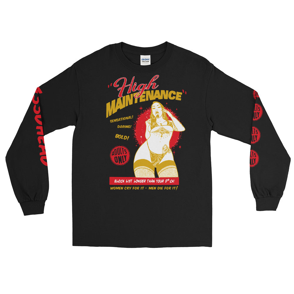 Shirt - Longsleeve: w33dhead - High Maintenance R/G