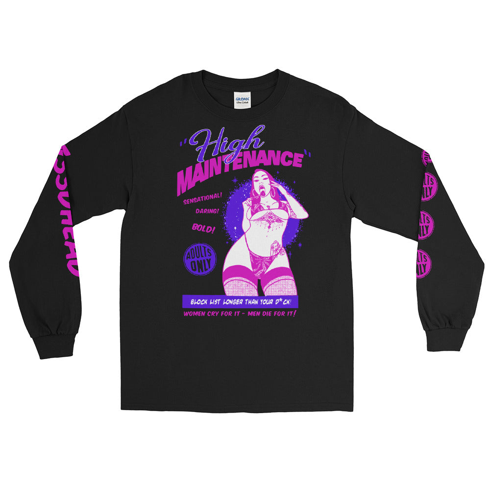 Shirt - Longsleeve: w33dhead - High Maintenance B/P