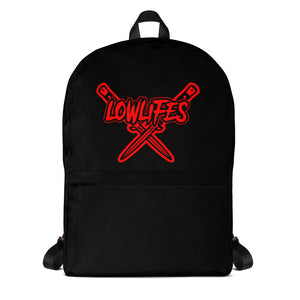 Backpack | Lowlifes - Knives Red