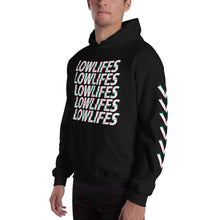 Load image into Gallery viewer, Hoodie - Pullover: Lowlifes - Glitch Blk