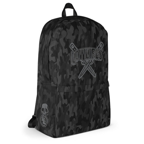 Backpack | Lowlifes - Knives Gry