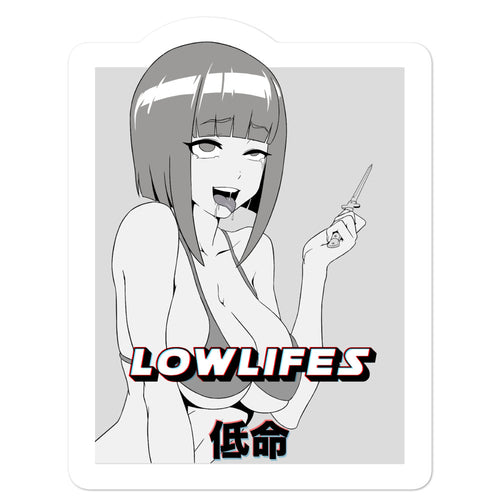 Sticker - Die Cut | Lowlifes - Ahegao