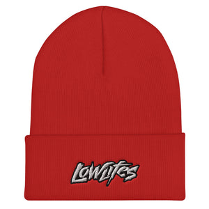 Beanie - Collared | Lowlifes - Jagged Wht