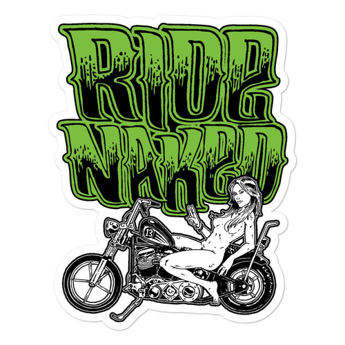 Sticker - Die Cut | D13 - Ride Naked