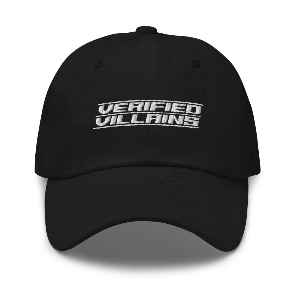 Hat - Dad: Verified Villains - Logo