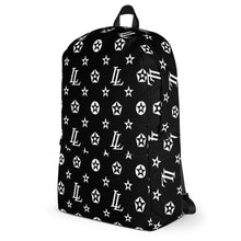 Load image into Gallery viewer, Backpack | Lowlifes - Pattern Blk/Wht