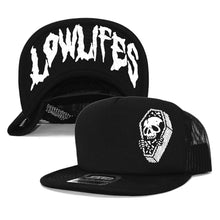 Load image into Gallery viewer, Hat - Trucker | Lowlifes - Coffin