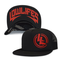 Load image into Gallery viewer, Hat - Trucker | Lowlifes - LL Red