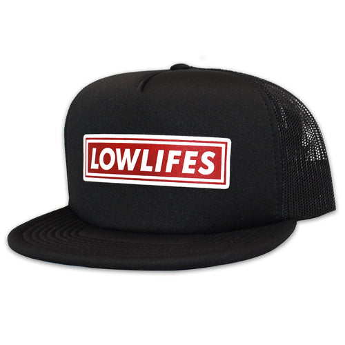 Hat - Trucker | Lowlifes - Lowbar Red
