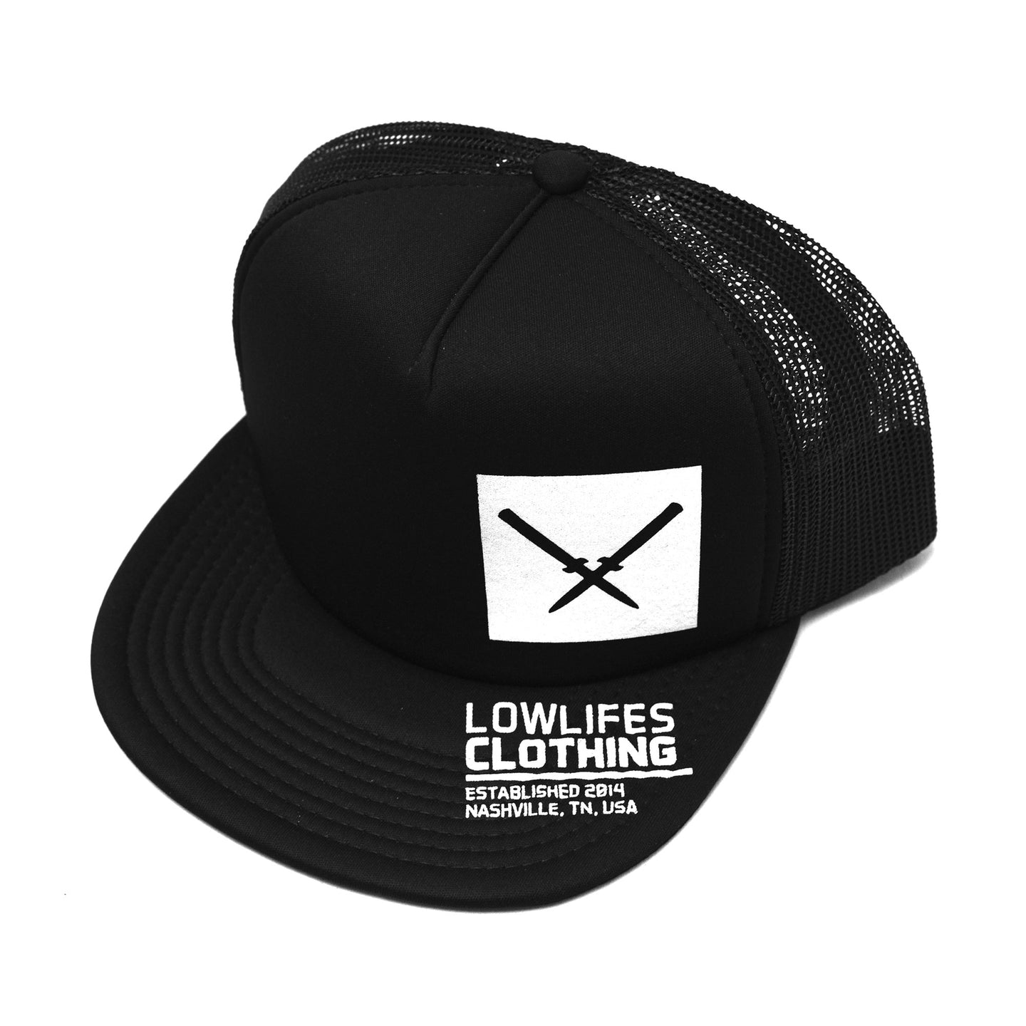 Hat - Trucker | Lowlifes - Maker's Mark