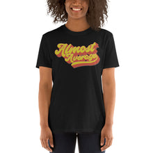 Load image into Gallery viewer, Shirt - Unisex: Almost Average - Cursive Retro