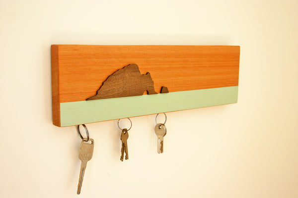 Hole in the Rock Magnetic Key Holder