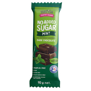 Natvia No Added Sugar Premium Chocolate Bars - choose from 6 flavours