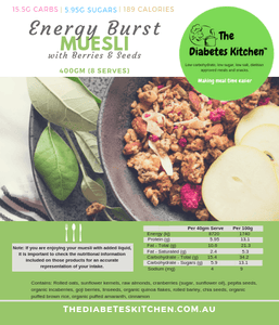 Meals - Energy Burst Muesli