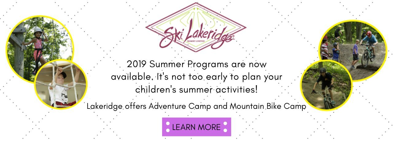 2019 Lakeridge Summer Programs