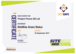 SiteWise Green Status Achieved!