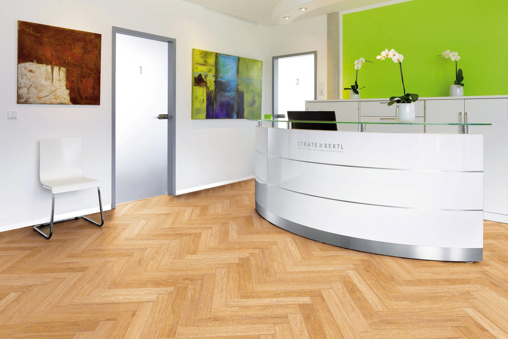 Herringbone - Design flooring is in trend