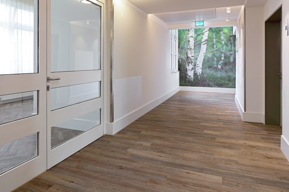 Healthcare sector - Create a warm and homely structure with a design floor