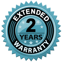 Extended 2 Year Warranty & Lifetime Tech Support