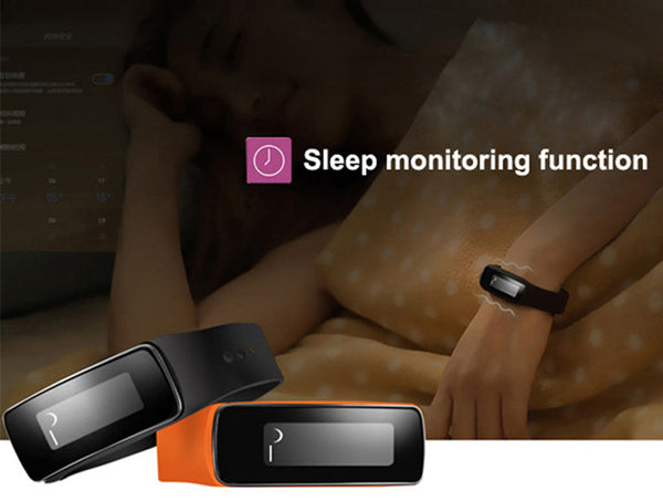 Wonlex V5 Fitness Smartband Bluetooth Pedometer Calories Sleep