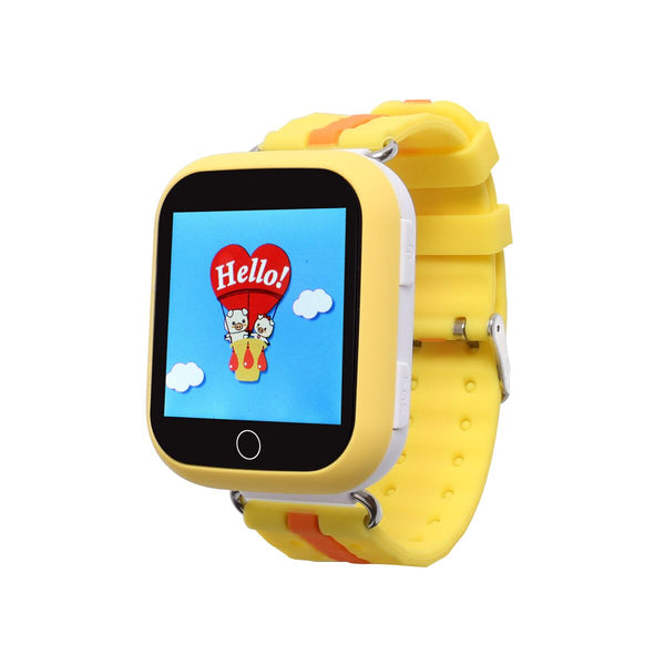 Promotion: 20 USD + Free Shipping + 2 Free pairs of Strap Wonlex GW200S GPS Kids Watch - YELLOW COLOR ONLY